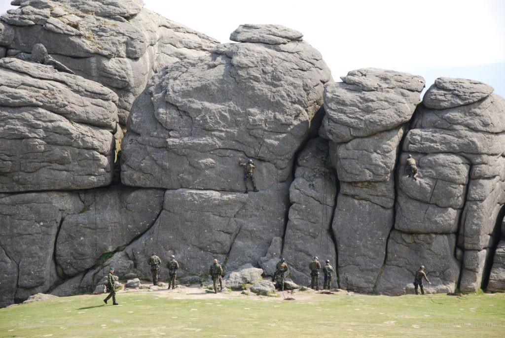 Diese Thors im Dartmoor werden nicht nur von Touristen besucht!