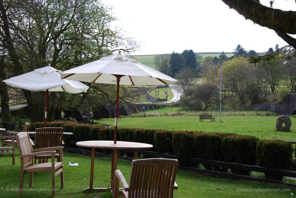 auch das ist das Dartmoor - ruhiger Spot zum Teetrinken