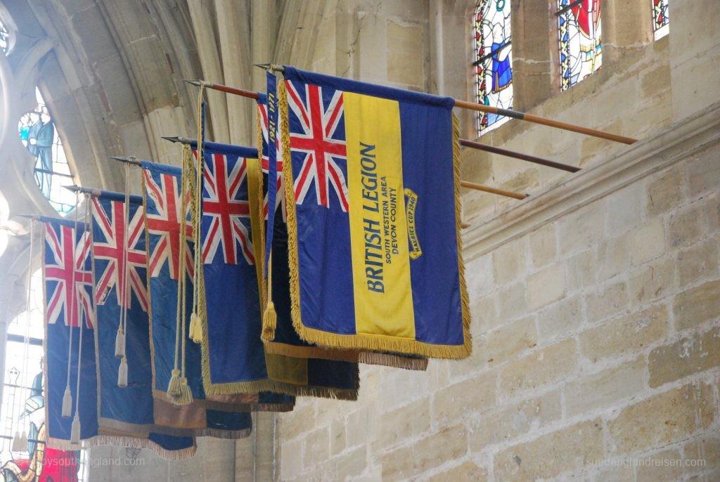 Exeter Cathedral von innen