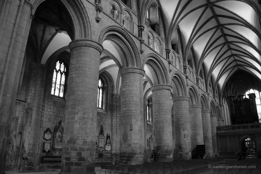 Gloucester Cathedral - in der Kathedrale