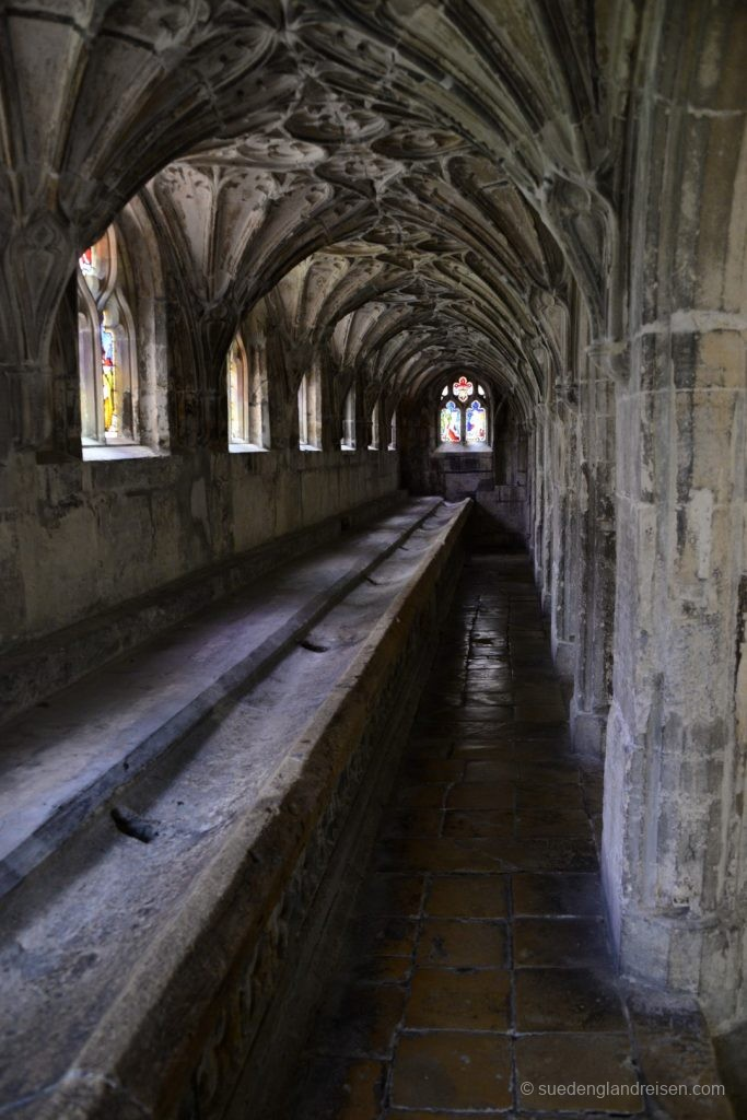 Gloucester Cathedral - im Kreuzgang