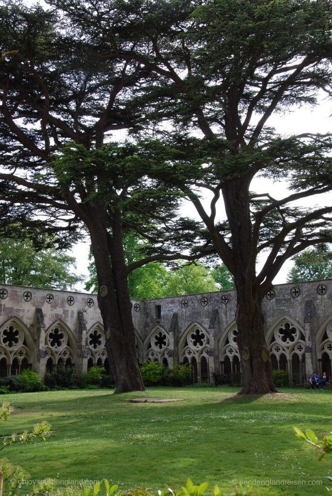 Innenhof der Salisbury Cathedral