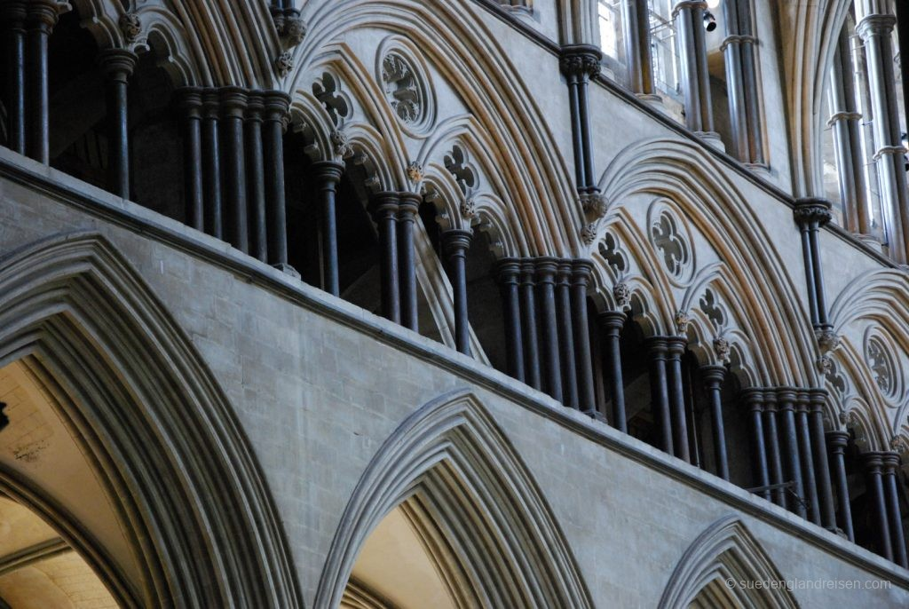 Details in der Salisbury Cathedral