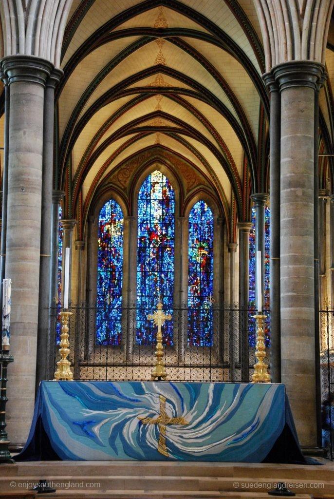 Altarbereich der Salisbury Cathedral