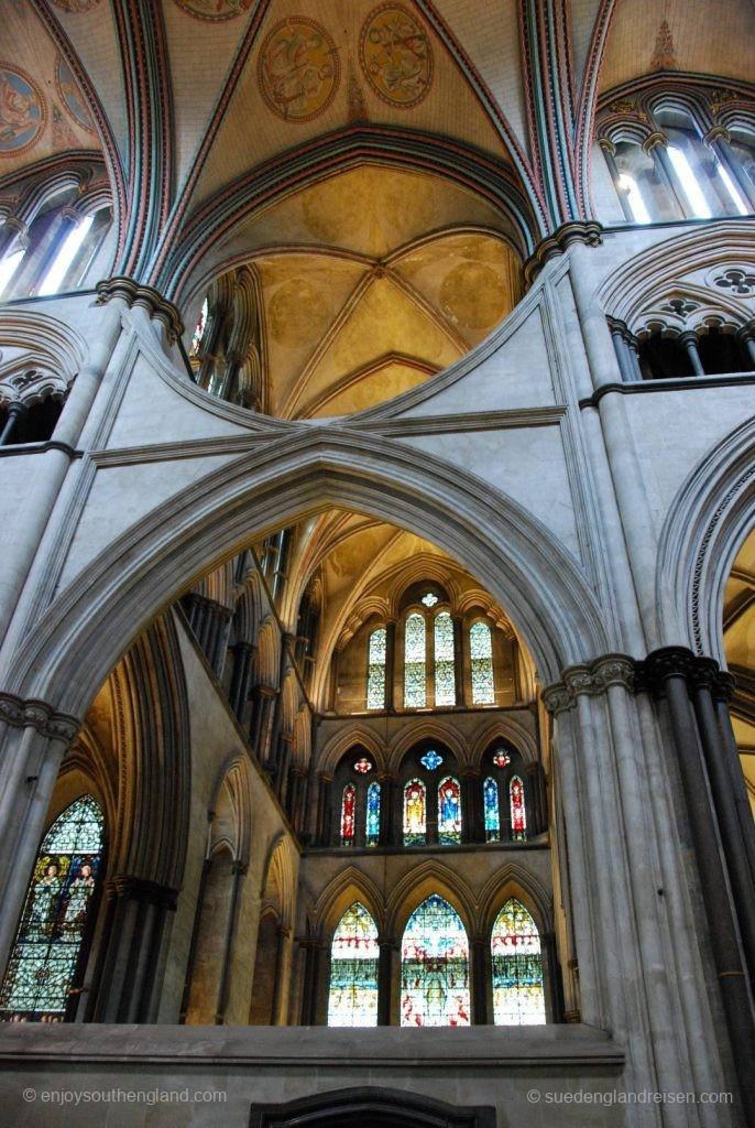 bauliche Details in der Salisbury Cathedral