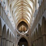 Inside the Wells Cathedral