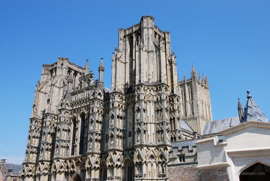 Wells Cathedral von außen