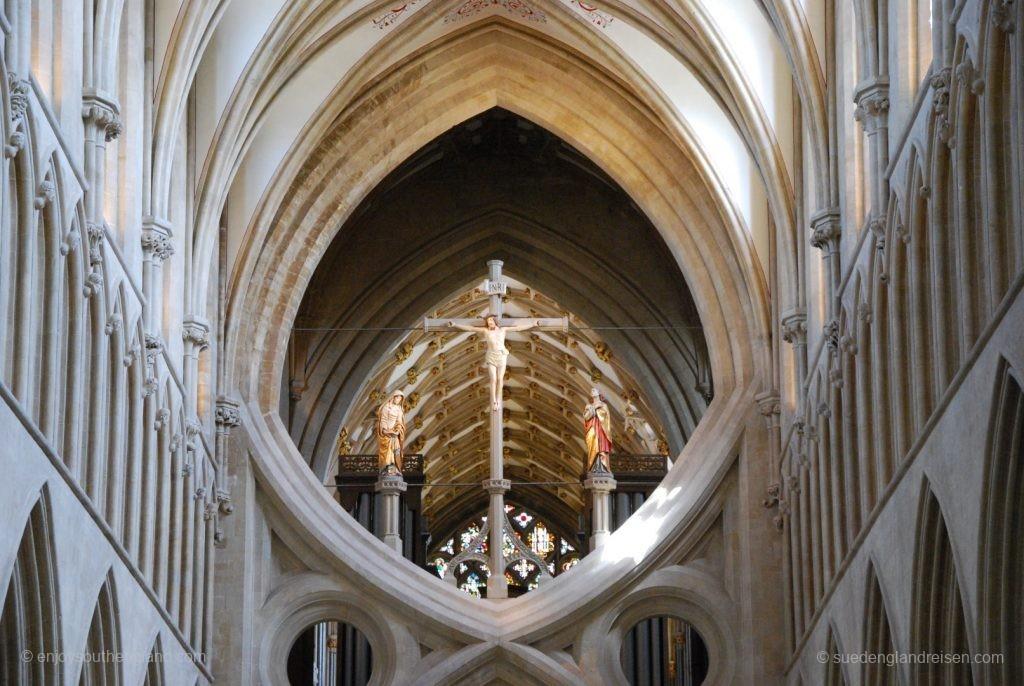 bauliche Details der wells Cathedral