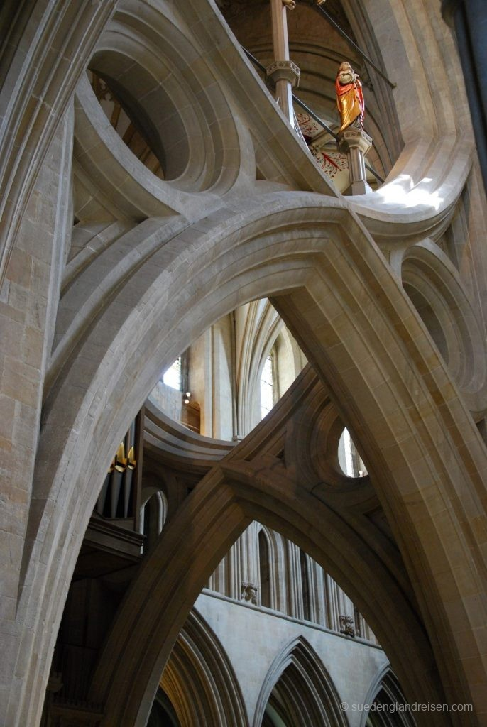 Detail in der Wells Cathedral