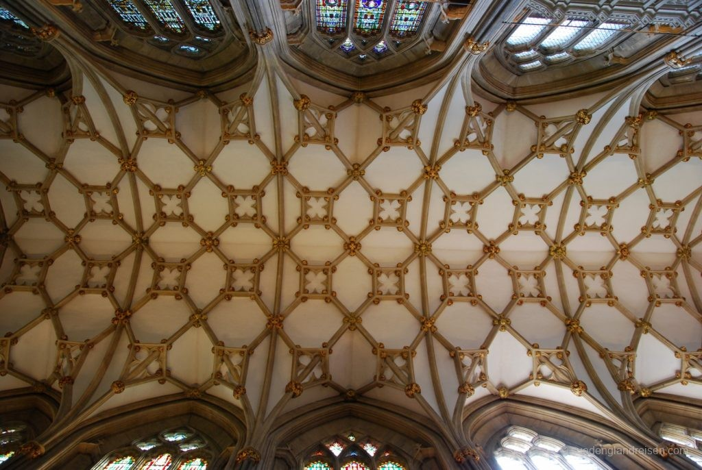 Decke in der Wells Cathedral