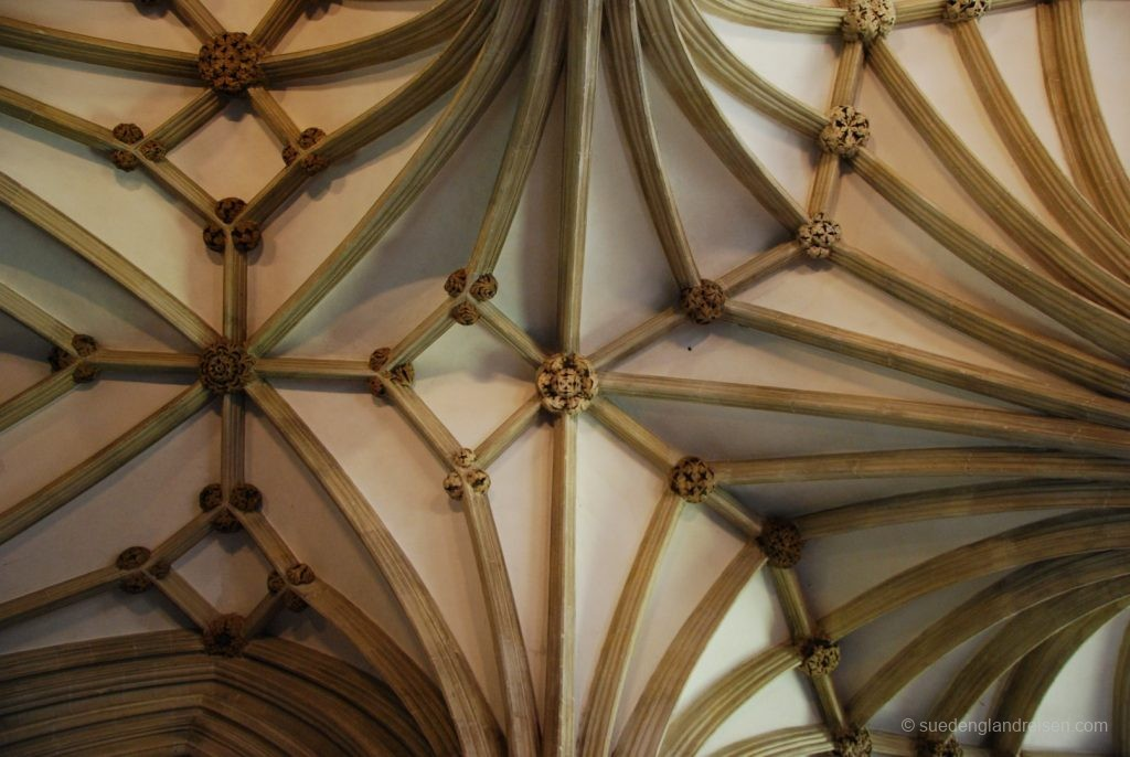 Deckendetail in der Wells Cathedral