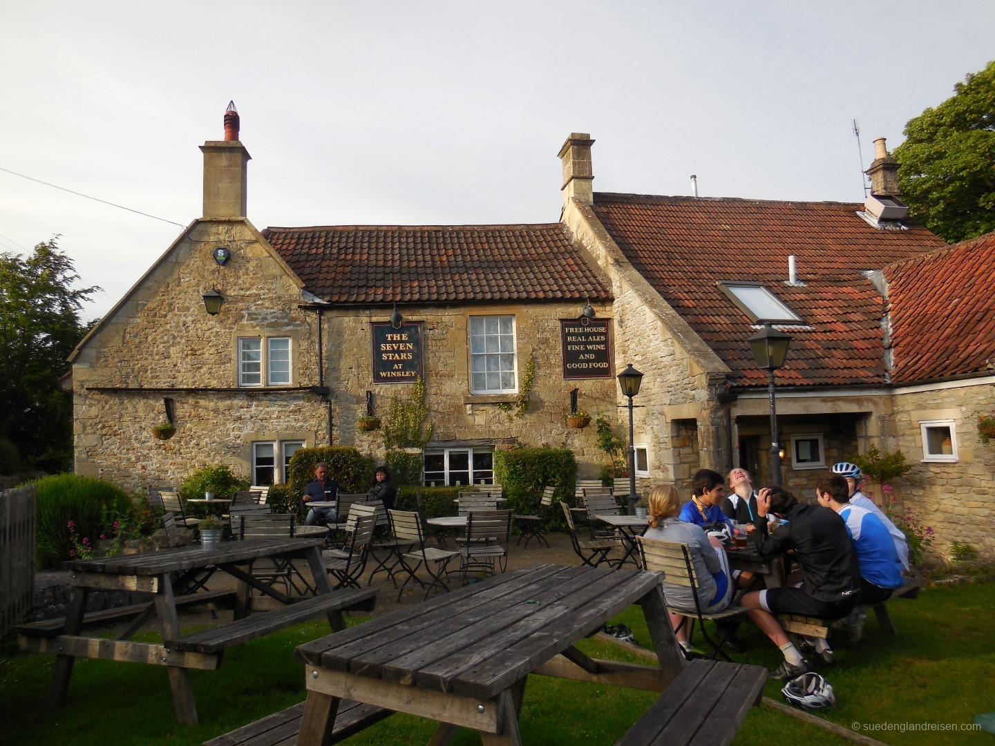 The Seven Stars in Winsley nahe Bradford-on-Avon