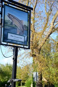 The Trout Inn in Wolvercote (nahe Oxford)