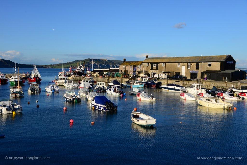 Lyme Regis, der Hafen