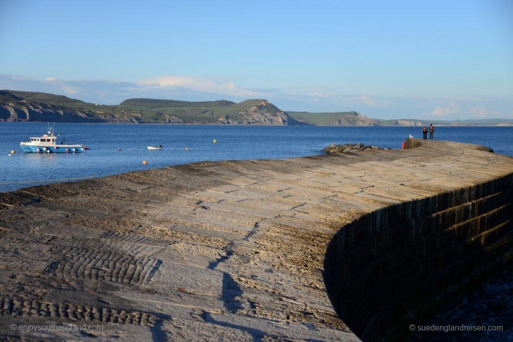 auf der Cobbs in Lyme Regis