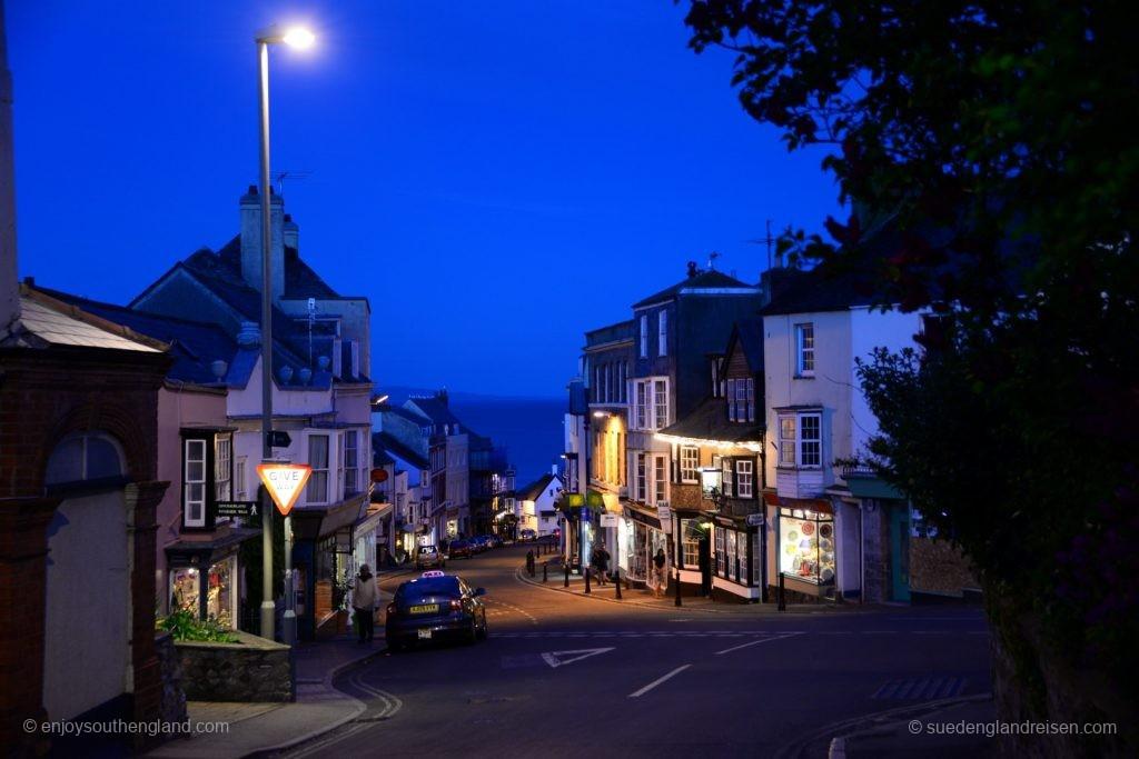 abendliches Lyme Regis