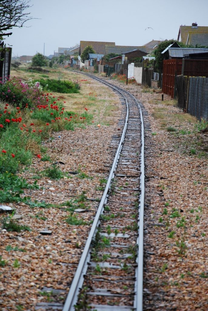 Romney, Hythe & Dymchurch Railway - südliche Strecke von Dungeness