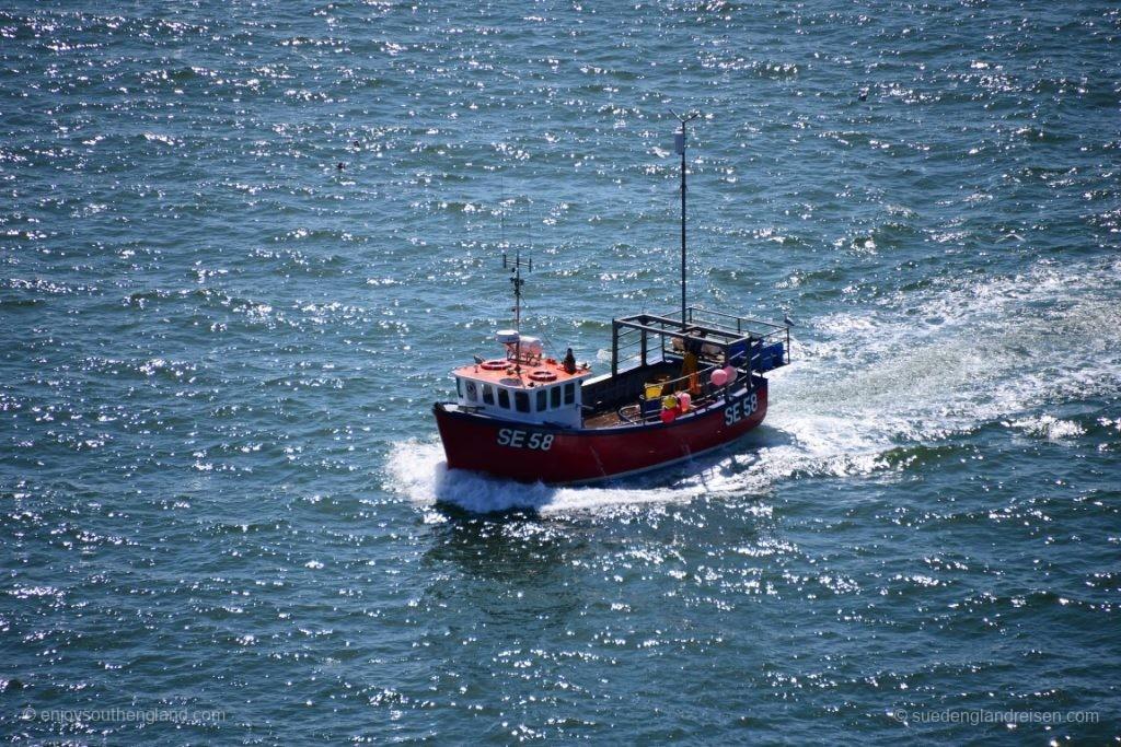 Salcombe ist noch heute ein Fischerhafen