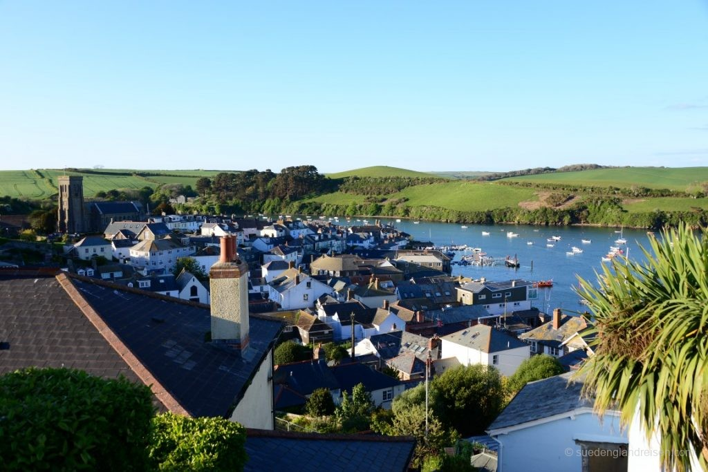 Salcombe in South Devon