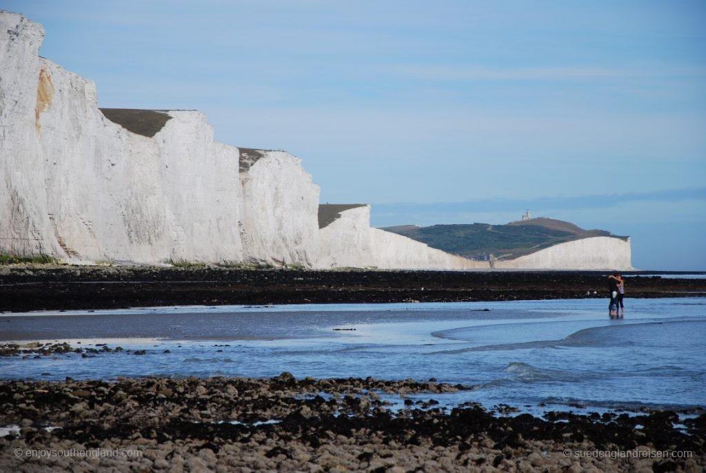 Am Fuße der Seven Sisters - es ist Sommer in England!