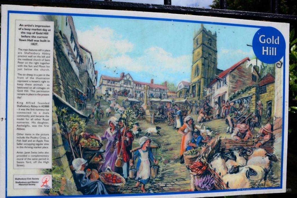Die Geschichte des Gold Hill in Shaftesbury