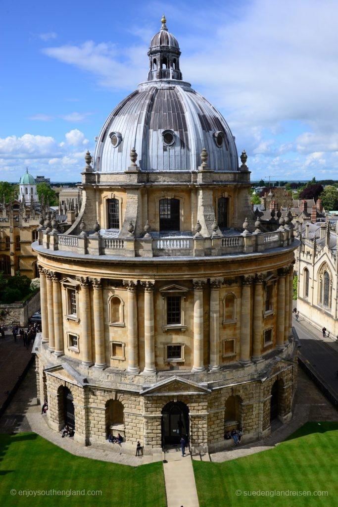 Oxford Radcliffe Camera - heute Lesesaal für die Studenten