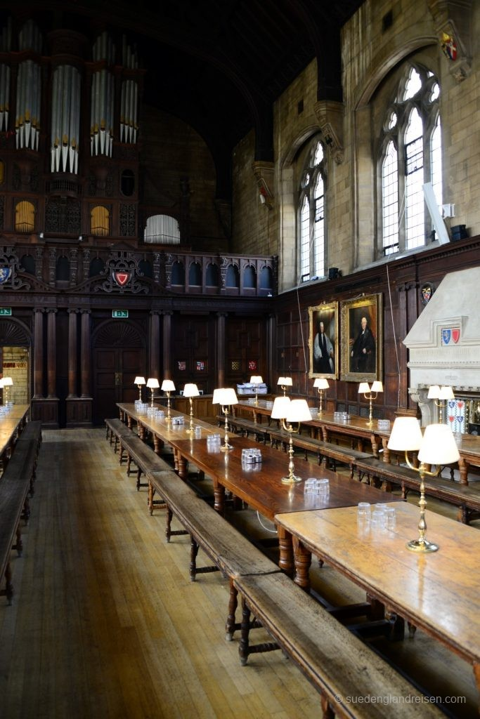 Städte - Oxford - College - Speisesaal (3)