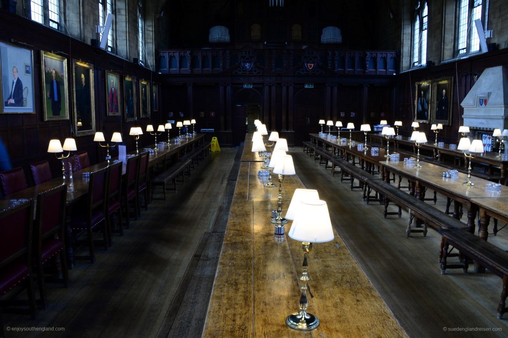 Städte - Oxford - College - Speisesaal (7)