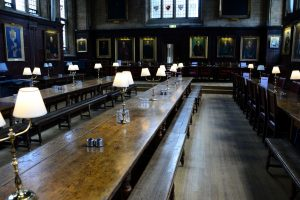 Oxford - Harry Potter Speisesaal im College (Oxfordshire)