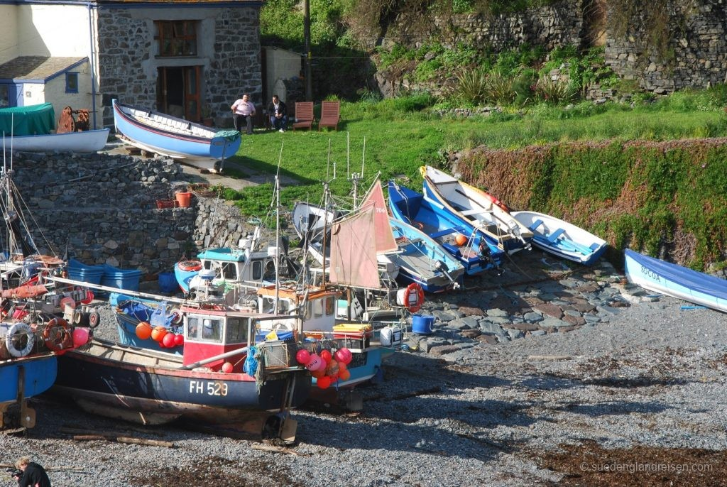 Fischerboote in Cadgwith