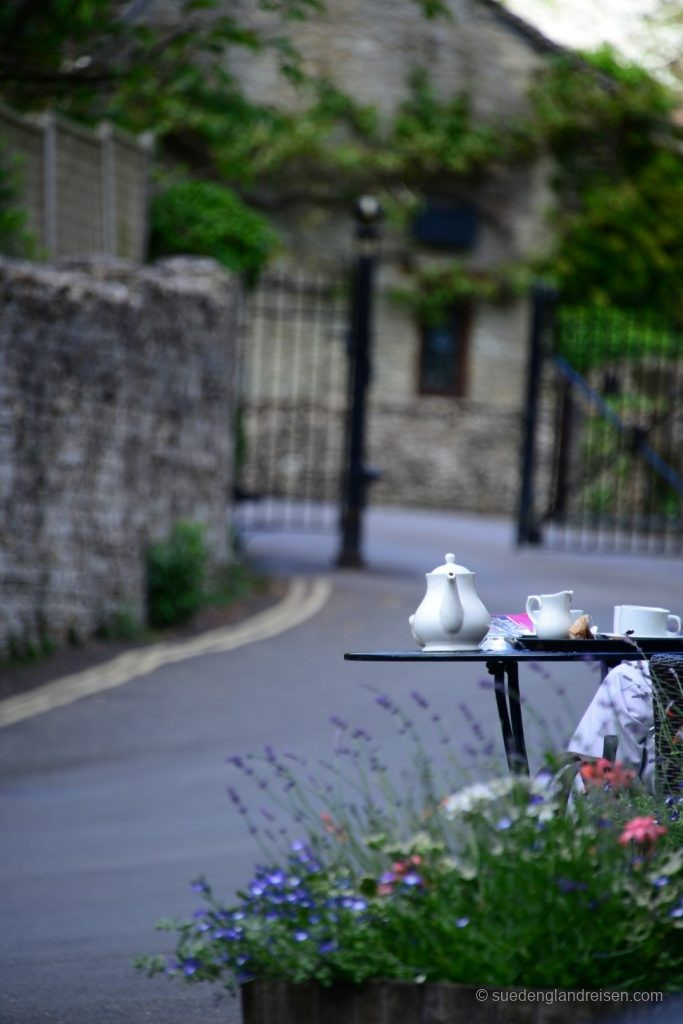 Castle Combe - am Tea-Room