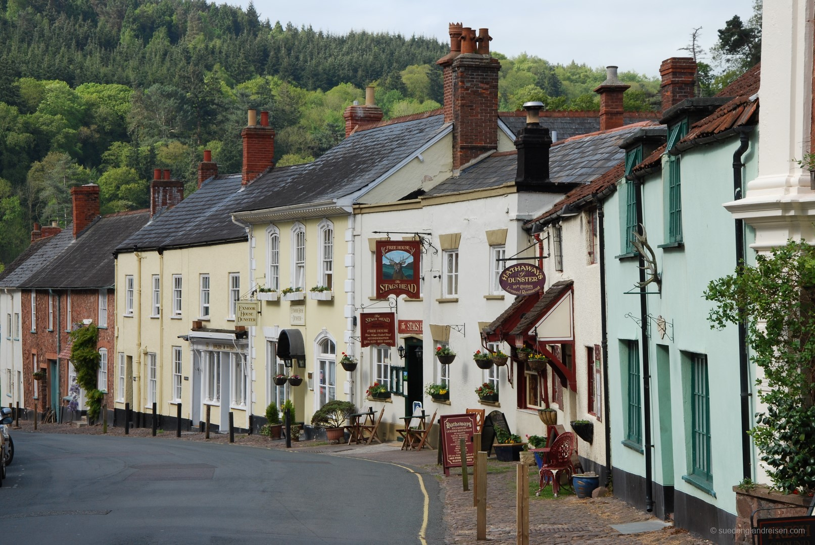 Dunster in Somerset