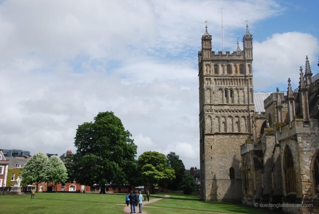 Exeter Cathedral und Cathedral Close