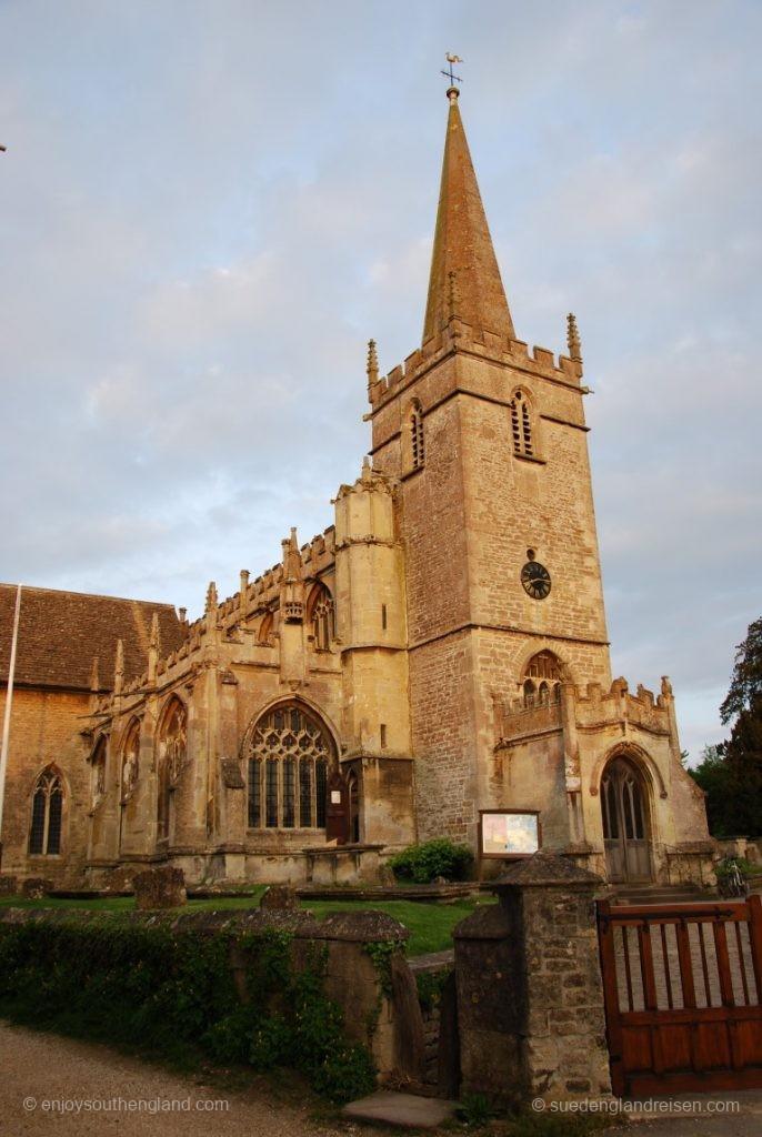 Die Kirche von Lacock