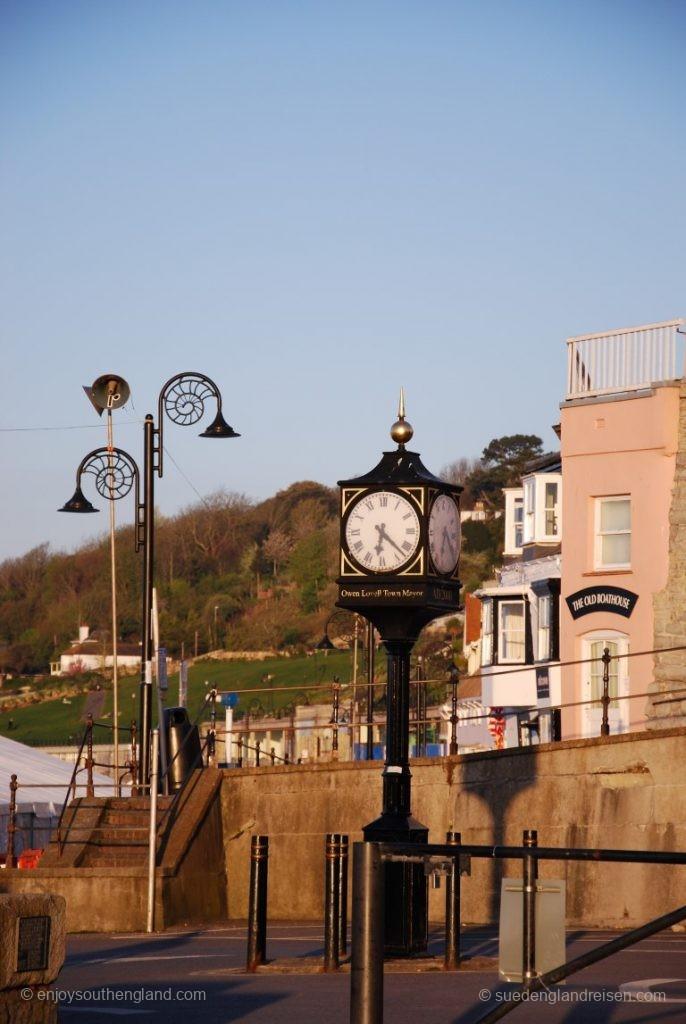 Lyme Regis im Morgenlicht