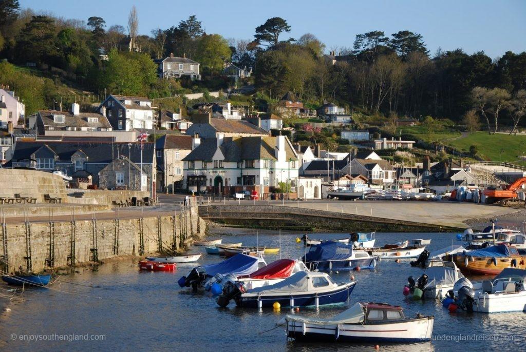 Lyme Regis - der Hafen