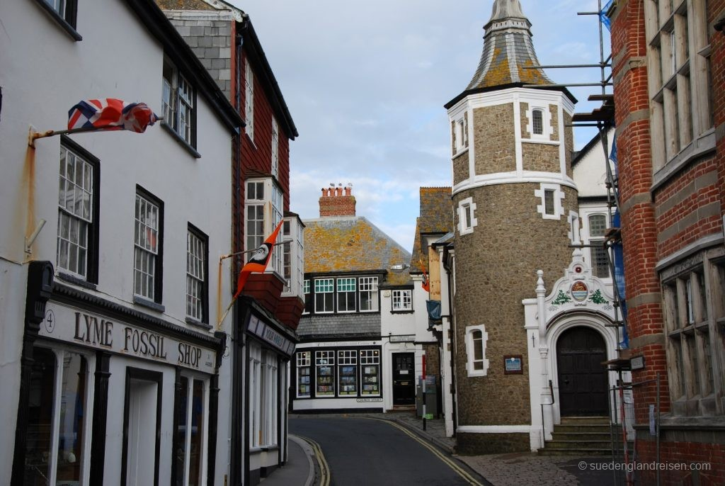 Lyme Regis - die sehr enge Altstadt