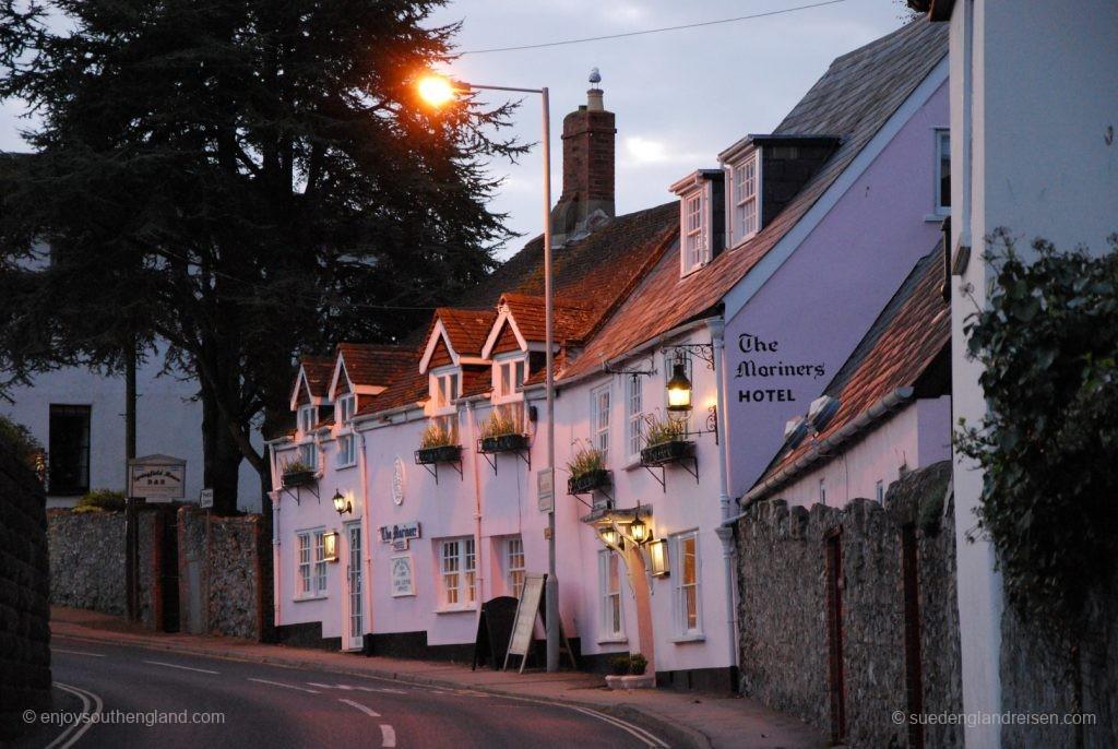 Lyme Regis am Abend