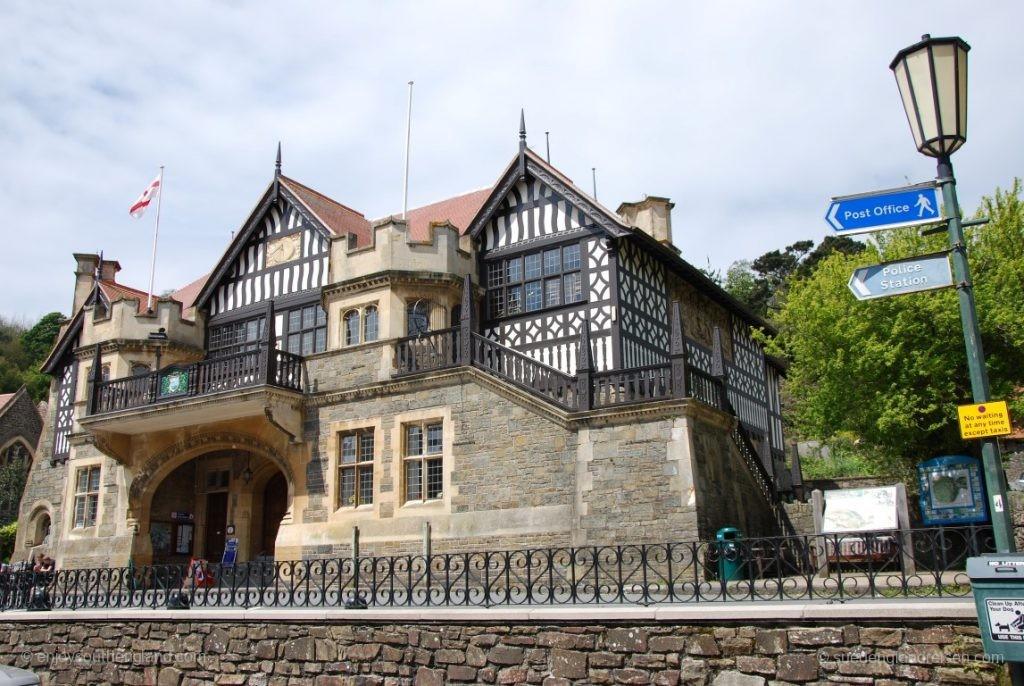 Die Town Hall von Lynton