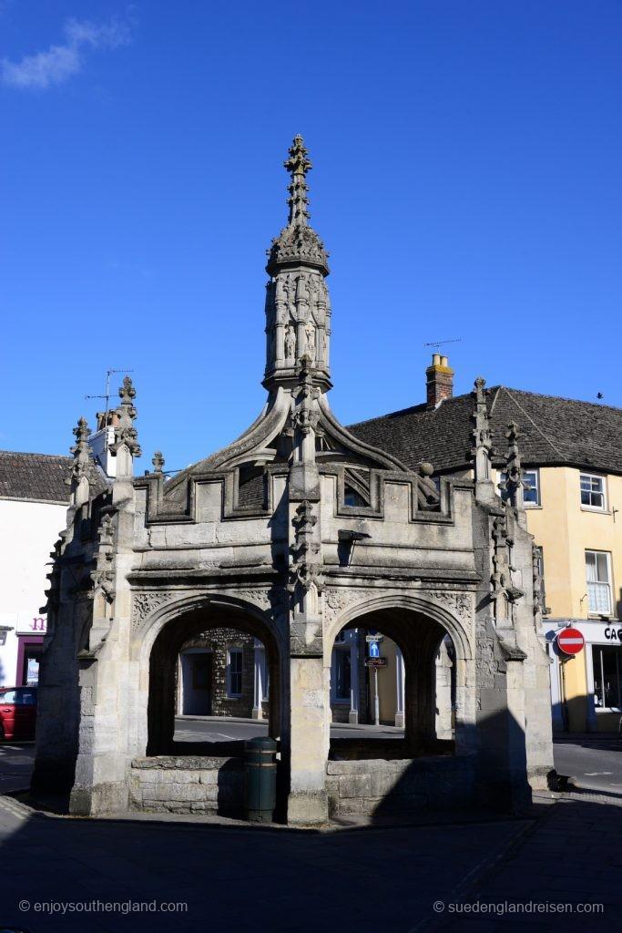 Malmesbury - das Market Cross