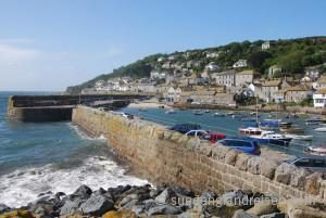 "Mousehole (pronounced ""Mowzel"""") in Cornwall"