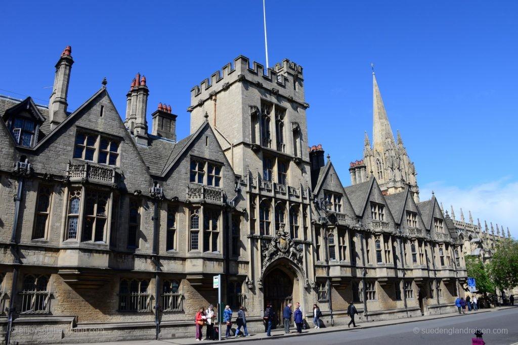 Oxford - in der Innenstadt