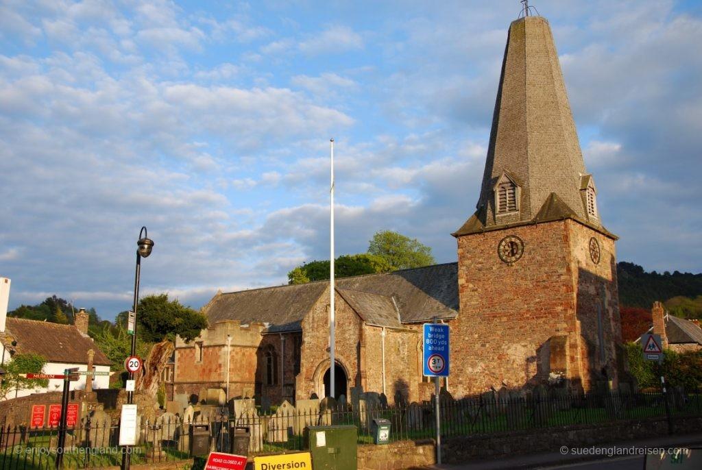 Die Kirche in Porlock (Exmoor)