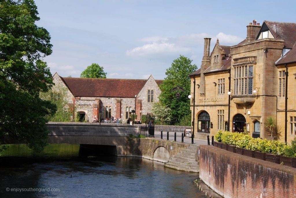 Die Flüsse prägen Salisbury
