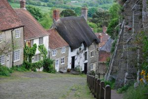 Gold Hill in Shaftesbury (Dorset)