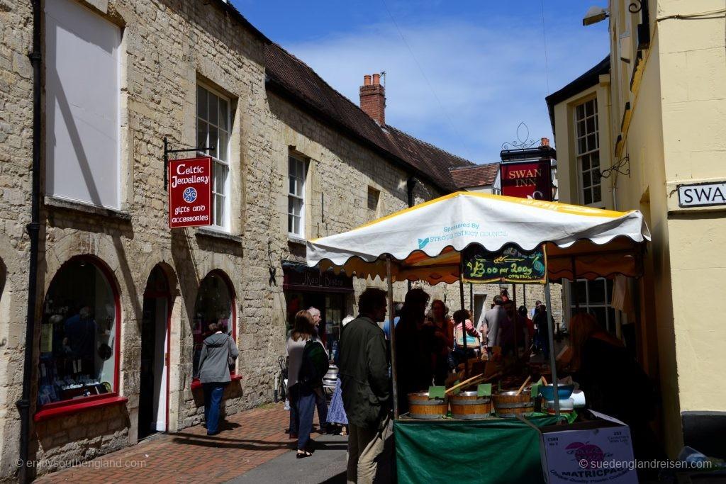 Impressionen vom Farmers Markt in Stroud