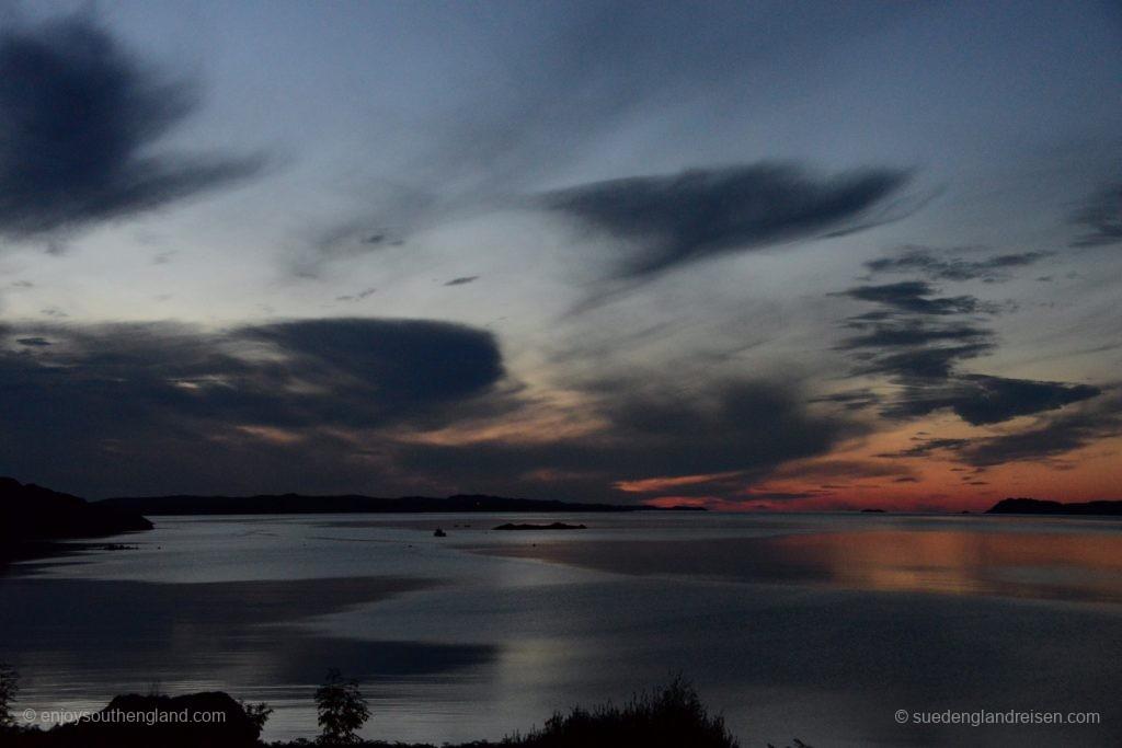 Abendstimmung am Loch Ewe