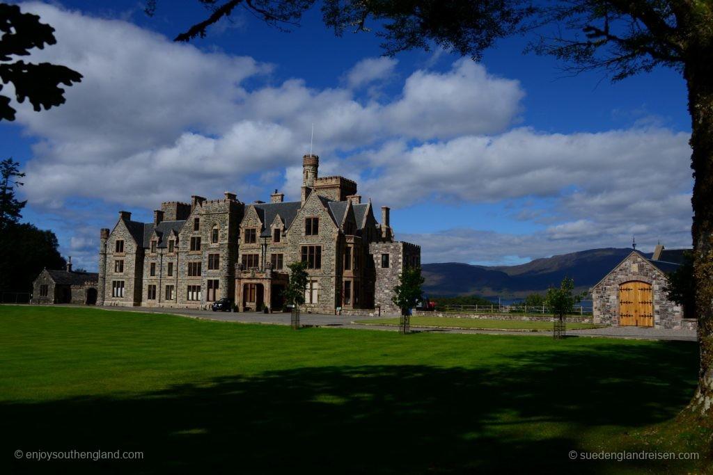 Duncraig Castle soll 2018 als hochwertiges Hotel wieder aufsperren. Vielversprechend, ohne Frage!