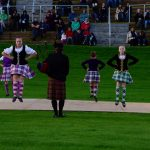Tanzvorführung beim Highland Evening von Pitlochry