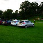 Wie im alten Autokino: Der Highland Evening auf dem Sportplatz von Pitlochry